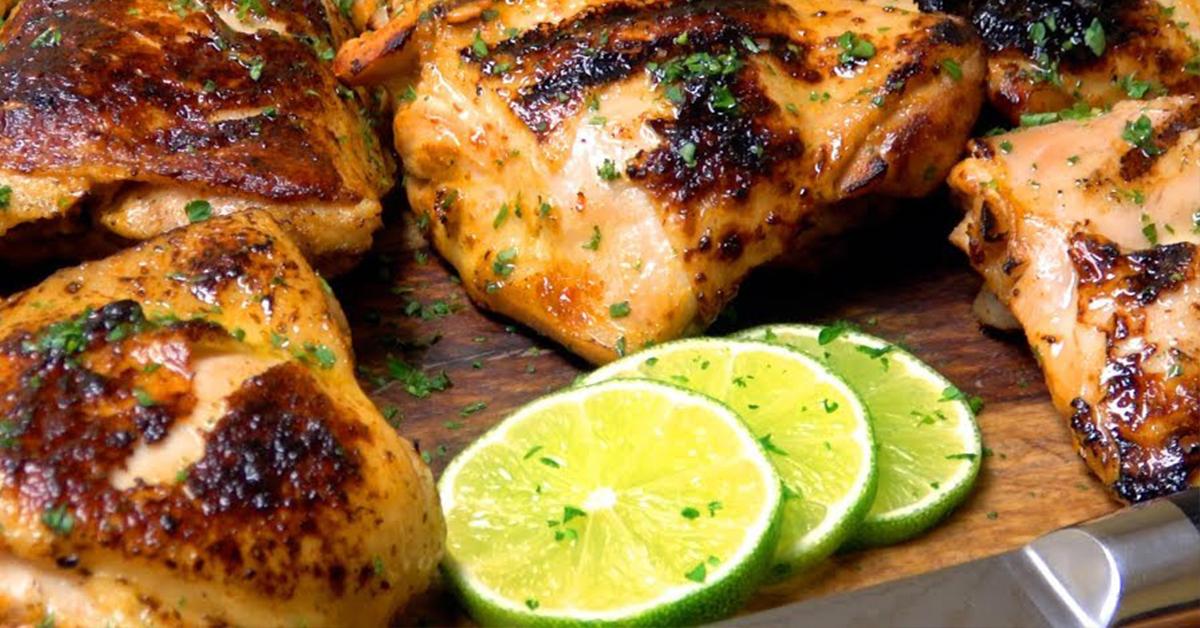 pechugas de pollo con limon sous vide