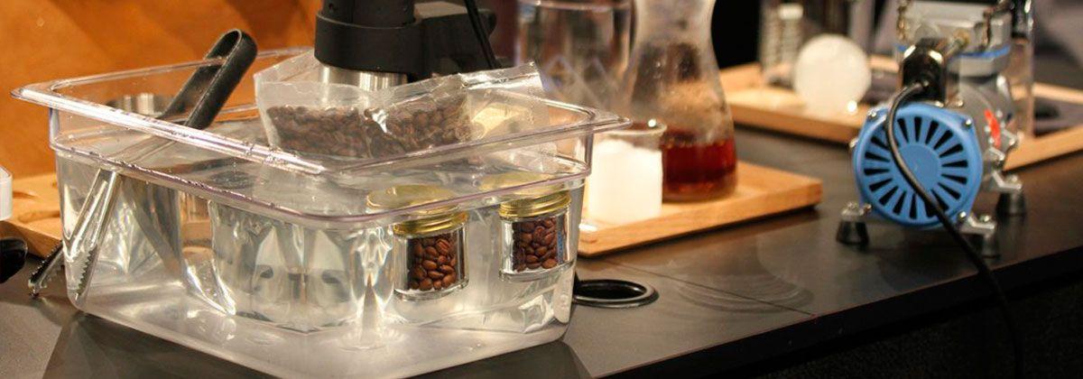 como hacer cafe sous vide