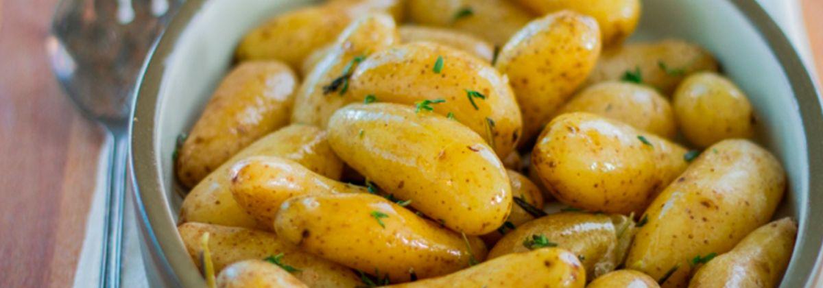 patatas escaldadas con mantequilla receta sous vide