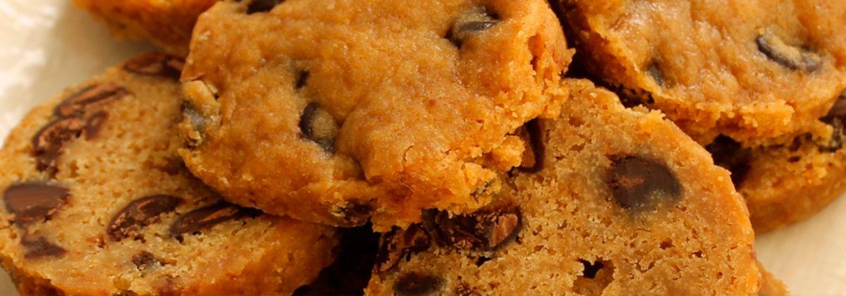 galletas con trozos de chocolate sous vide a baja temperatura