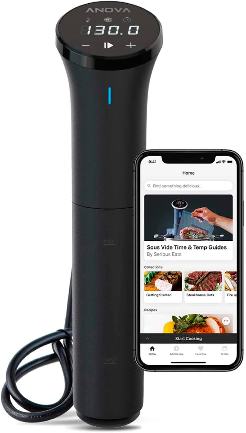 Anova Culinary | Nano Sous Vide Precision Cooker (750W) | App Anova Incluida
