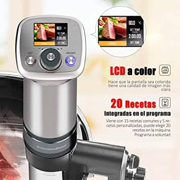 Vista detalle KitchenBoss G320 Pro imagen 4